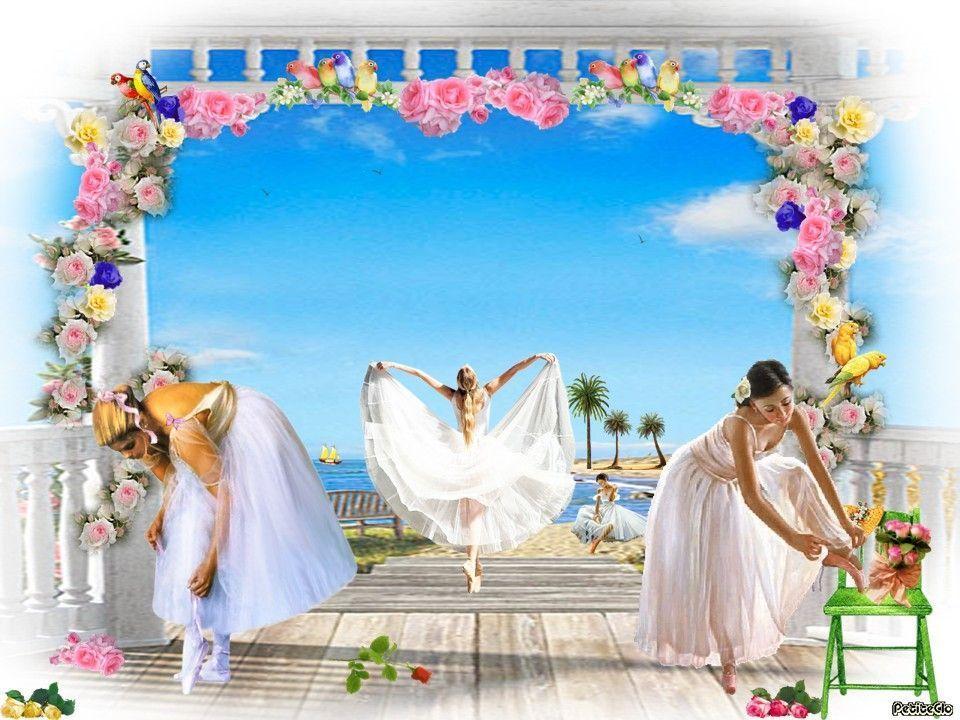 Nos danseuses dans les îles