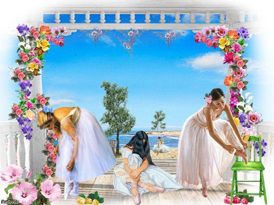 Danseuses aux fleurs